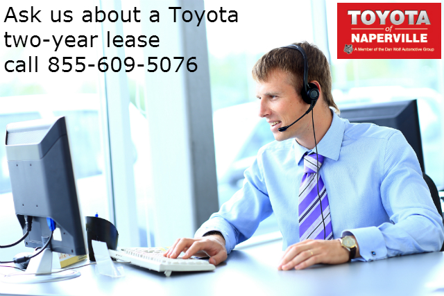 Toyota two-year lease